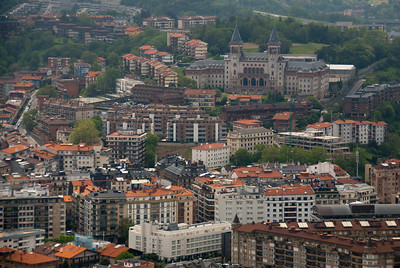 Skyline of Bilbao, Biscay, Basque Country, Spain