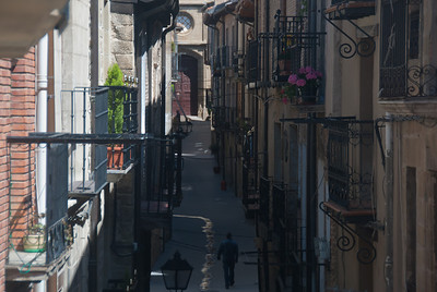 A side street in Basque Country, Spain