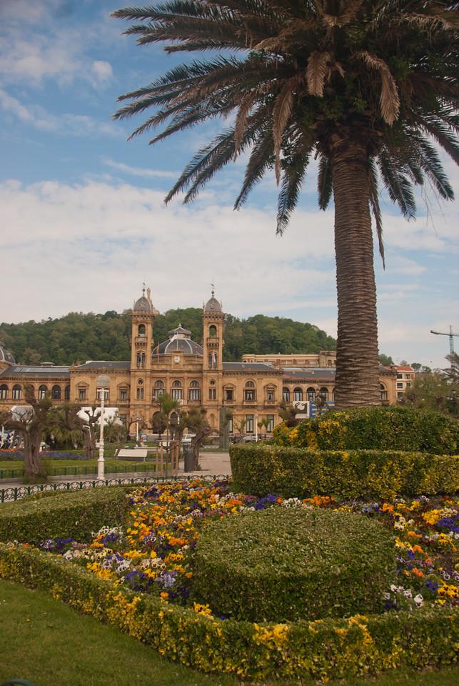 The City Hall of Donostia-San Sebastian in Basque Country, Spain