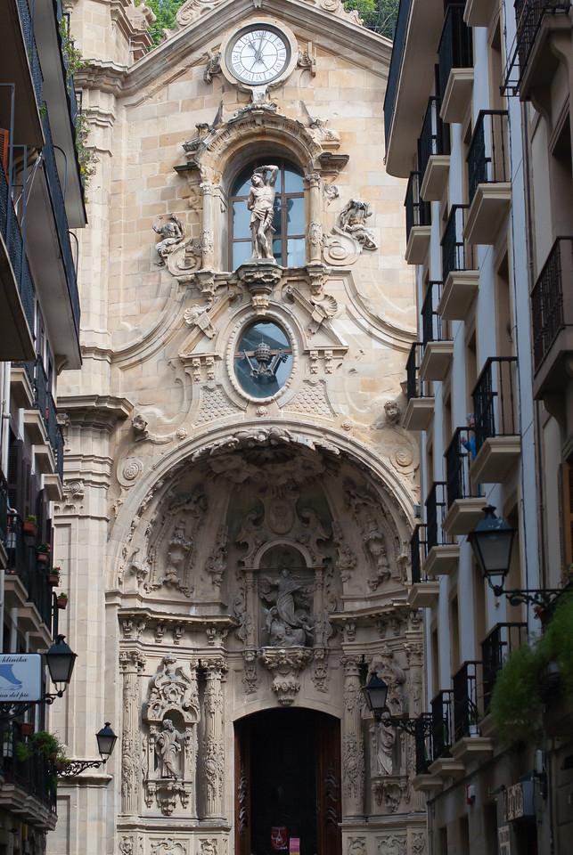 Basilica of Saint Mary of the Chorus in San Sebastian, Basque Country, Spain