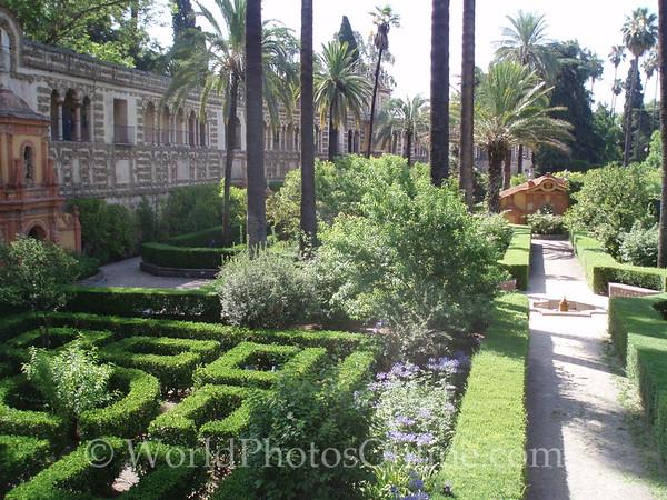 Alcazar - Garden of the Pool 1