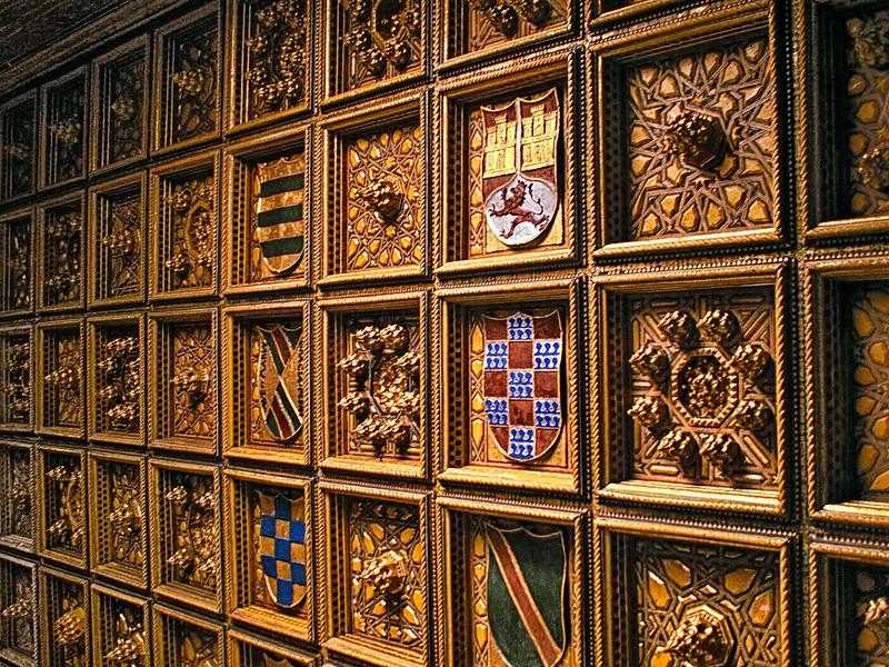 Ceiling - Casa de Pilatos - Seville
