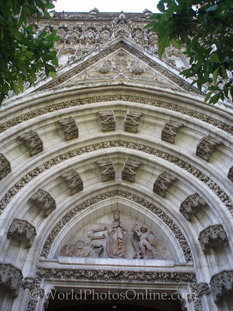 Cathedral - Garden Entrance