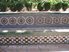 Alcazar - Garden of the Dance - Tile Bench