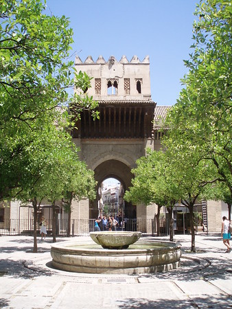 Cathedral - Orange Tree Courtyard and Fountain