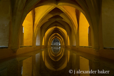 Maria de Padilla Bath, Alcazar in Seville Spain