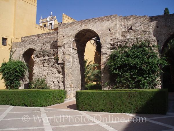 Alcazar - Original Gate into Lion's Plaza