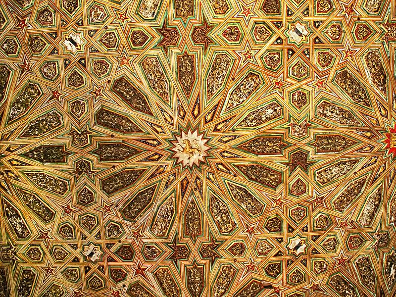 Ceiling - Real Alcazar - Seville