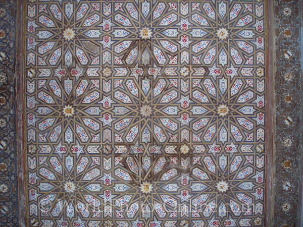 Alcazar - Palace of Don Pedro - Room Ceiling 1