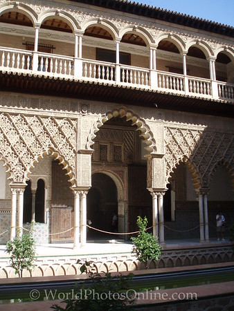 Alcazar - Palace of Don Pedro - Patio of the Maidens 2