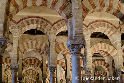 Arches - Mosque–Cathedral of Córdoba