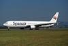 EC-FCU Boeing 767-3Y0ER c/n 24999 Glasgow/EGPF/GLA 11-08-95 (35mm slide)