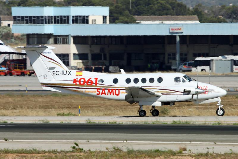 EC-IUX Beech B200 Super King Air c/n BB-1840 Palma/LEPA/PMI 14-06-16