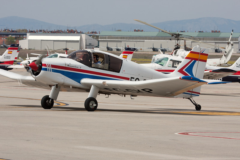 EC-CKP SAN Jodel D.140E Mousquetaire c/n 194 Cuatro Vientos/LECU 06-04-08