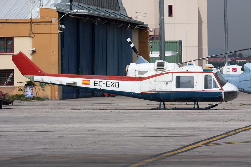 EC-EXO Bell Helicopters UH-1B Iroquois c/n 202 Cuatro Vientos/LECU 06-04-08