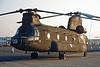 """HT.17-09 (ET-409) Boeing-Vertol CH-47C Chinook """"Spanish Army"""" c/n F009 Fairford/EGVA/FFD 25-07-99 (35mm slide)"""