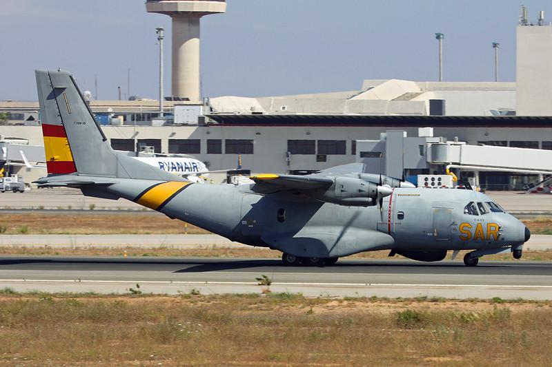 "T.19B-10 (D.4-03) CASA 235-100MPA ""Spanish Air Force"" c/n C046 Palma/LEPA/PMI 14-06-16"
