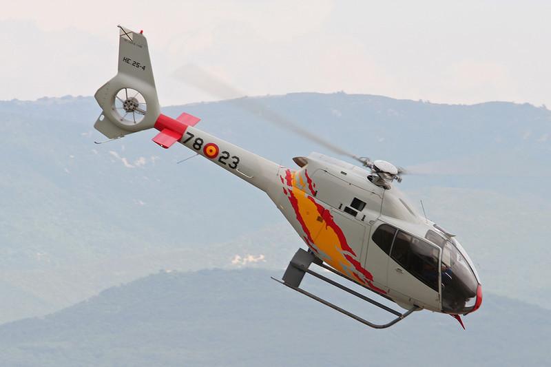 "HE.25-4 (78-23) Eurocopter EC120B ""Spanish Air Force"" c/n 1166 Valence/LFLU/VAF 24-06-06"