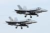 "C.15-94 (46-22) McDonnell-Douglas F/A-18A Hornet ""Spanish Air Force"" c/n A-132 & C.15-85 (46-13) McDonnell-Douglas F/A-18A Hornet ""Spanish Air Force"" c/n A-123 Las Palmas/GCLP/LPA 04-02-16"