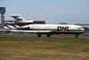 "EC-HAH Boeing 727-223F ""Swiftair"" c/n 21084 Luton/EGGW/LTN 17-05-02 ""DHL"" (35mm slide)"