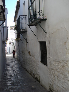 Alley, Tarifa - Spain.