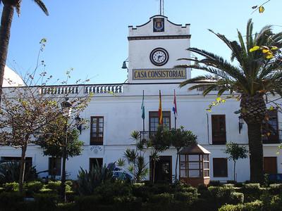 Police Station, Tarfia - Spain.