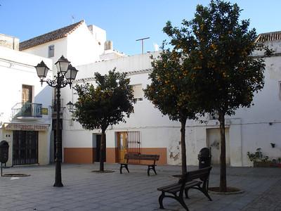 Plaza San Martin, Tarifa - Spain.