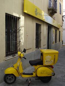 Postal Bike, Tarifa - Spain.