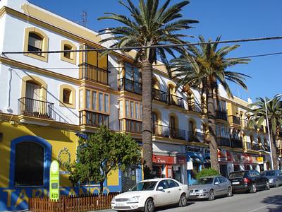 Avenida De Andalucia, Tarifa - Spain.