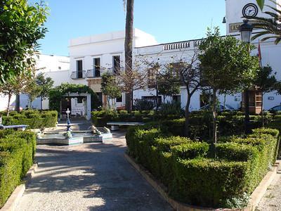 Plaza De Santa Maria, Tarifa - Spain.