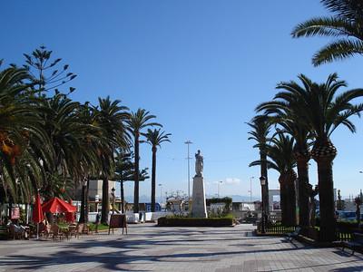 Paseo De La Alameda, Tarifa - Spain.