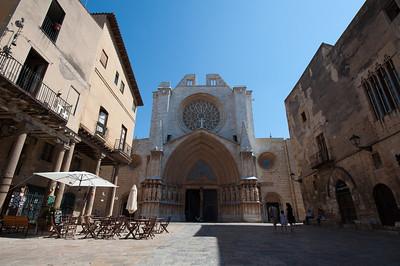 The Tarragona Cathedral in Tarragona, Spain