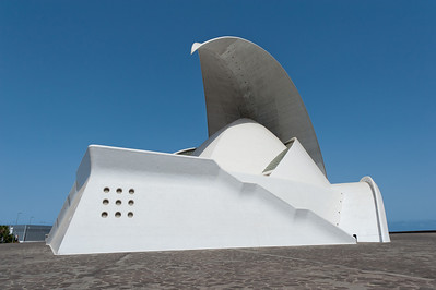 Auditorio de Tenerife in Tenerife, Canary Islands, Spain