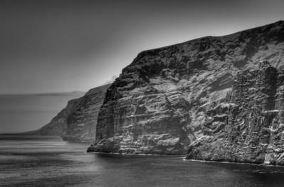Los Gigantes cliffs. Tenerife, Canary Islands, Spain