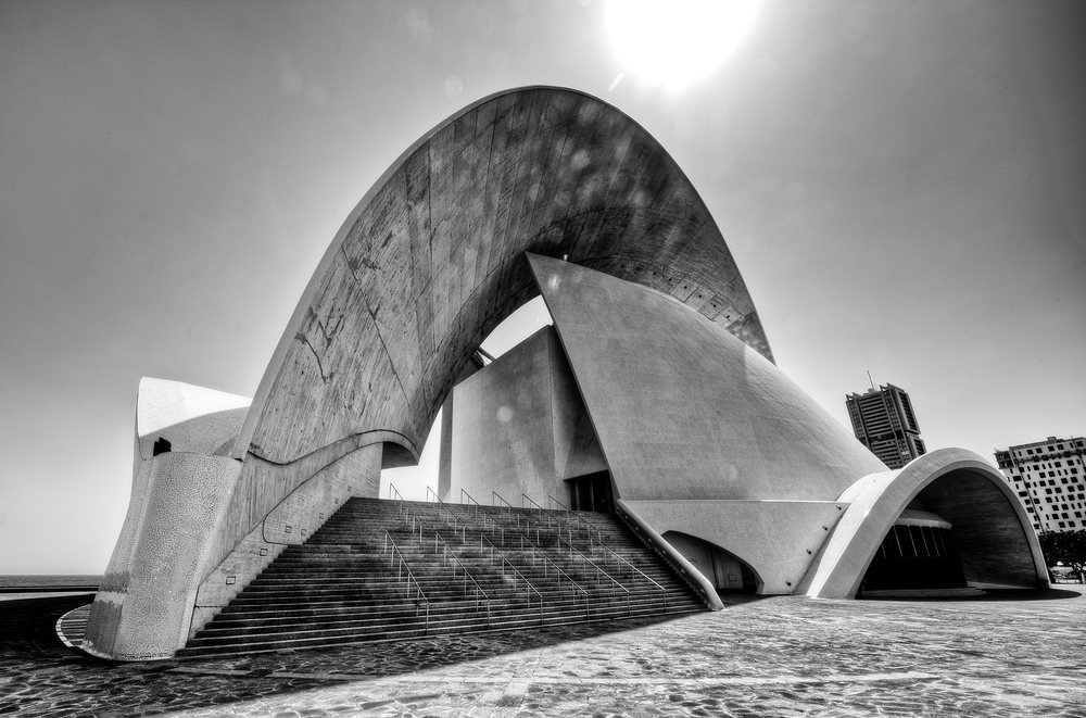 Santiago Calatrava's Auditorio de Tenerife in Tenerfie, Canary Islands