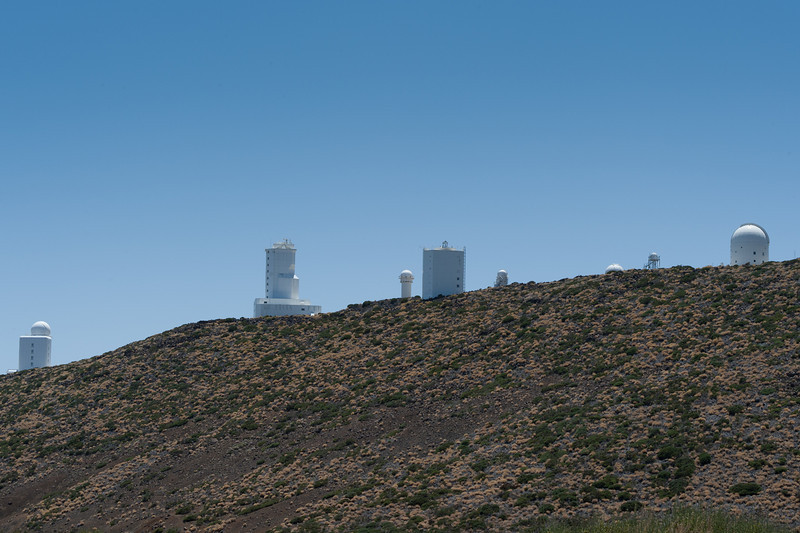 The Observatorio del Teide (Teide Observatory) in Tenerife, Spain