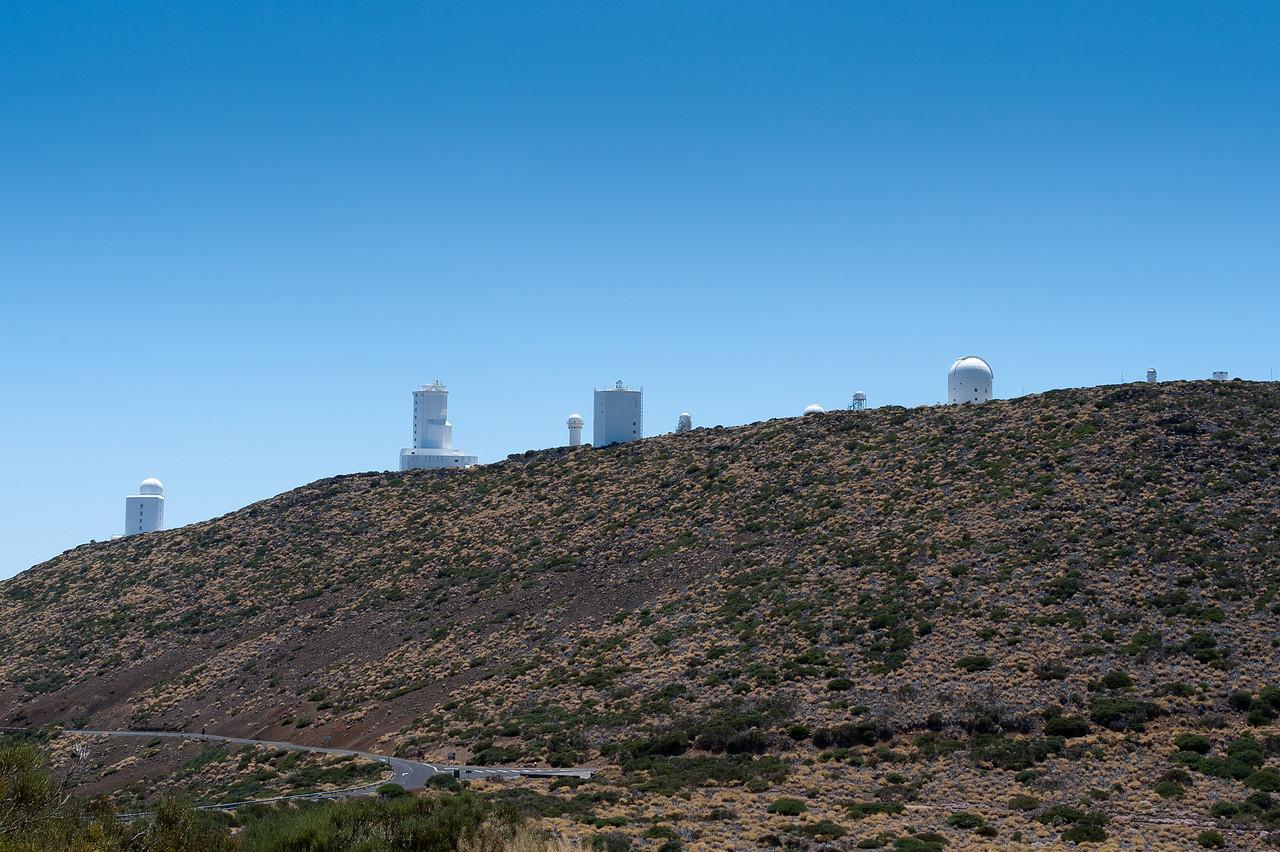 The Observatorio del Teide (Teide Observatory) in Tenerife, Spain