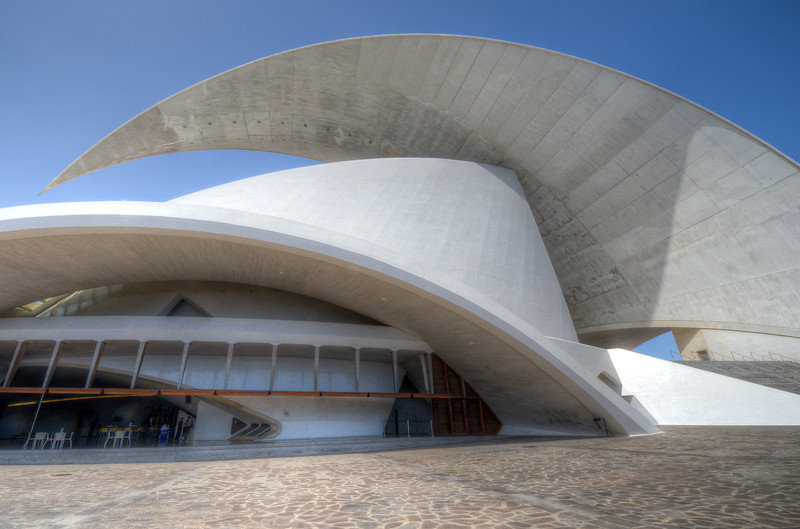 Auditorio de Tenerife in Tenerife, Canary Islands, Spain