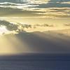 Afternoon sun over La Gomera
