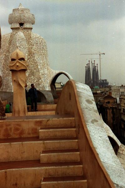 Gaudi's Casa Mila - Barcelona, Spain