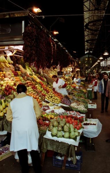 Mercat de la Boqueria - Barcelona, Spain