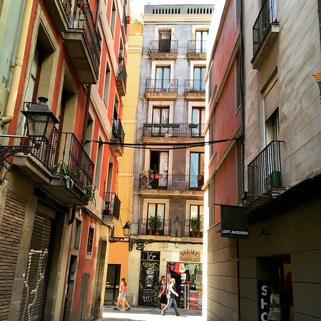 Barcelona Back Streets, Spain