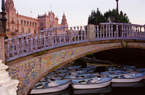 Espana Square Bridge - Sevilla, Spain