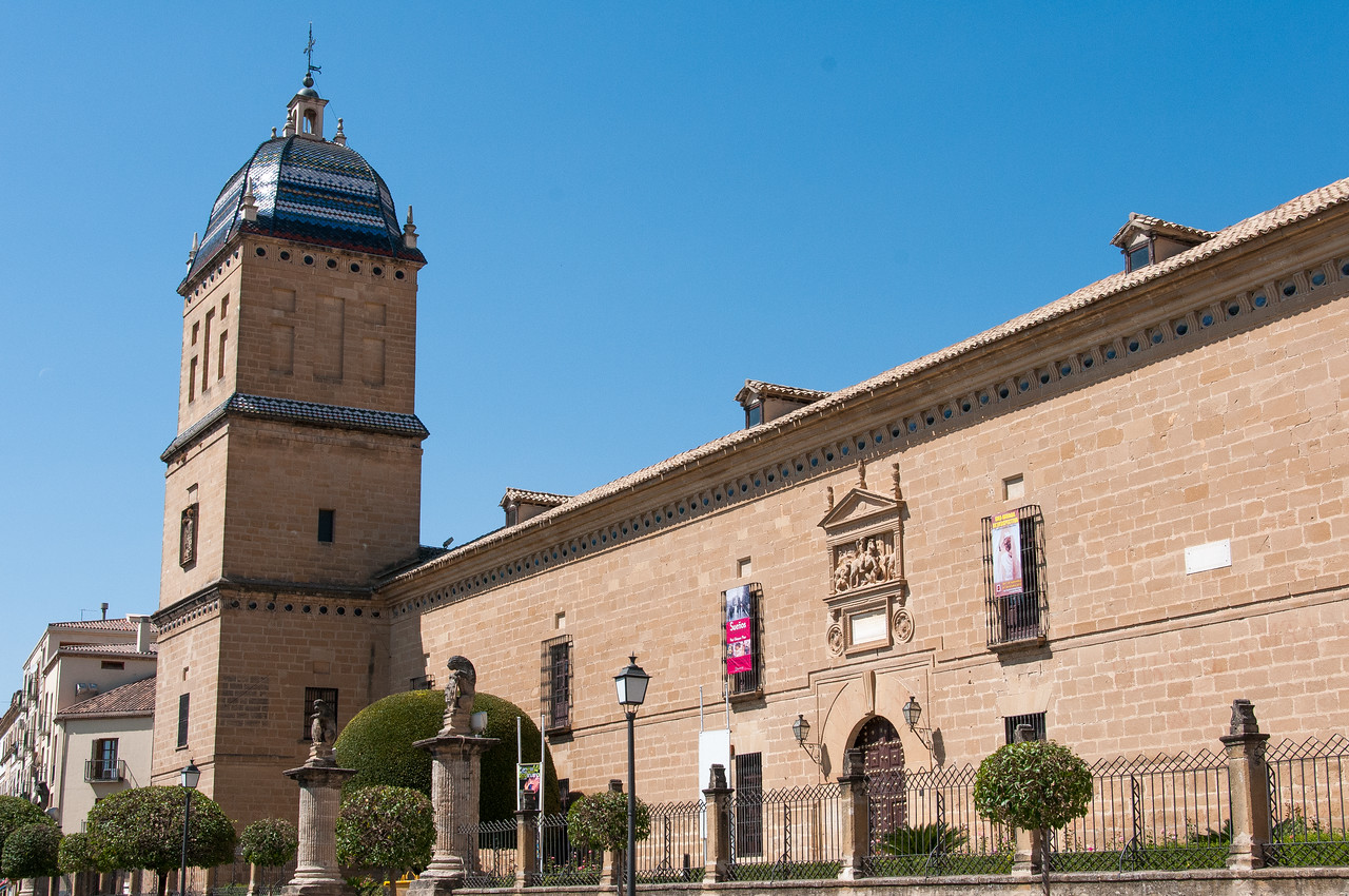 Ancient Hospital de Santiago in Ubeda, Andalusia, Spain