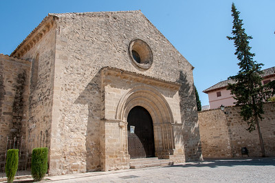 Romanesque church Iglesia de Santa Cruz, Baeza, Spain