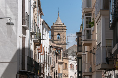Bell tower of the Holy Trinity Church and Convent, Ubeda, Spain