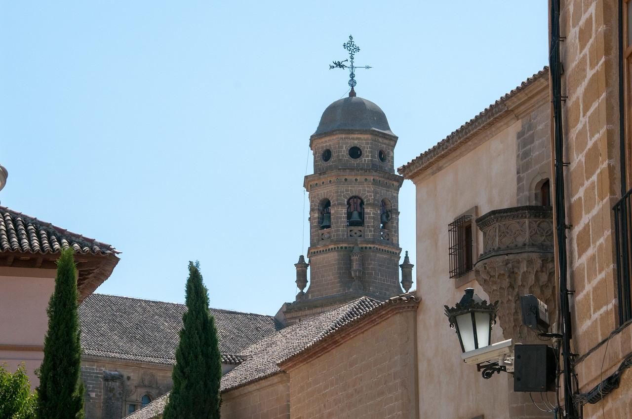 Detail of Bellfry of Cathedral in Ubeda, Spain