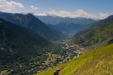 The beautiful Aran Valley in Catalonia, Spain