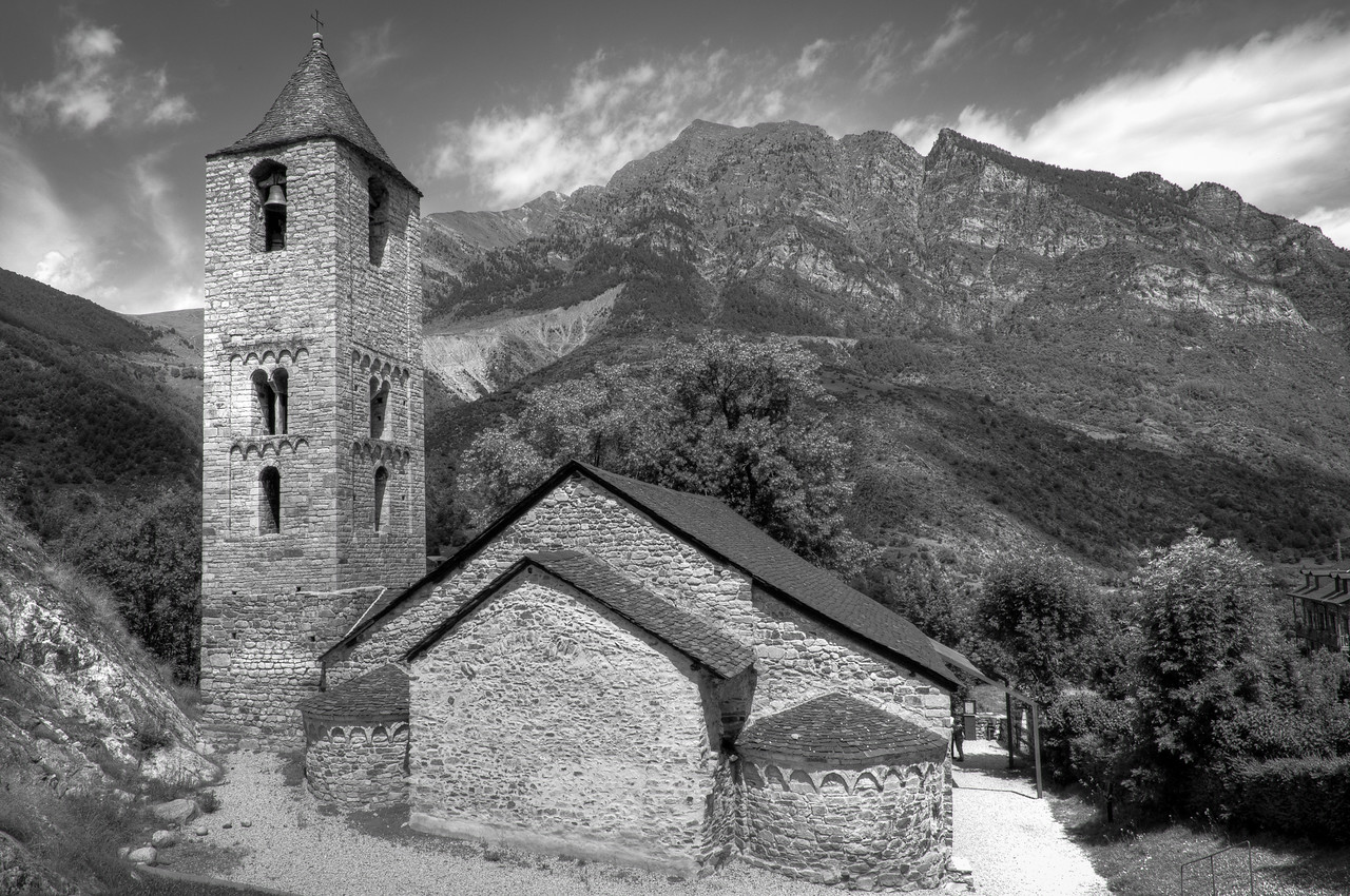Sant Climent in Taüll in Vall de Boi, Catalonia, Spain