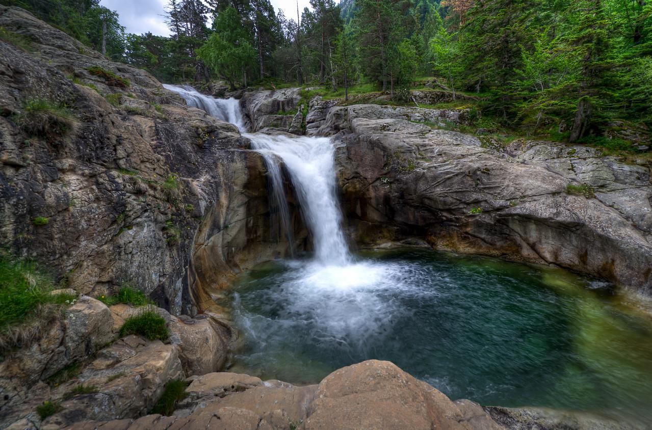 Waterfall at Vall de Boi, Spain